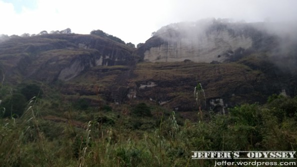 One side of Mt. Tagpaya.