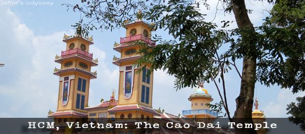 Ho Chi Minh, Vietnam: The Cao Dai Temple