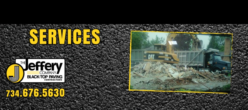 Jeffery Company Paving Services