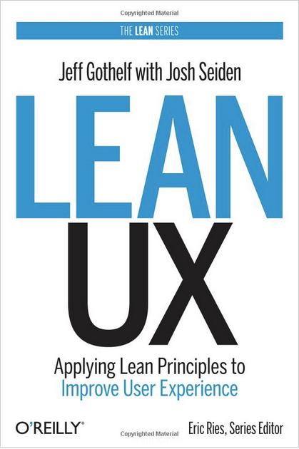 Lean UX book