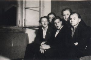 Vitauts at a German Camp with Latvians
