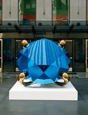Jeff Koons Artwork Diamond