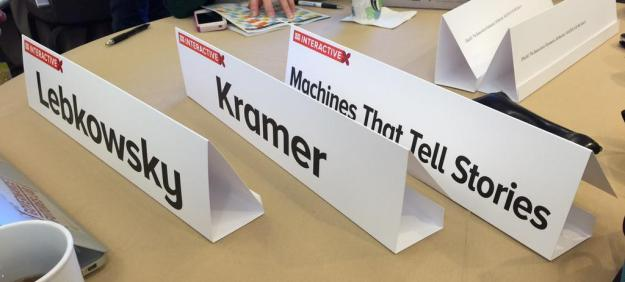 Machines That Tell Stories Placards