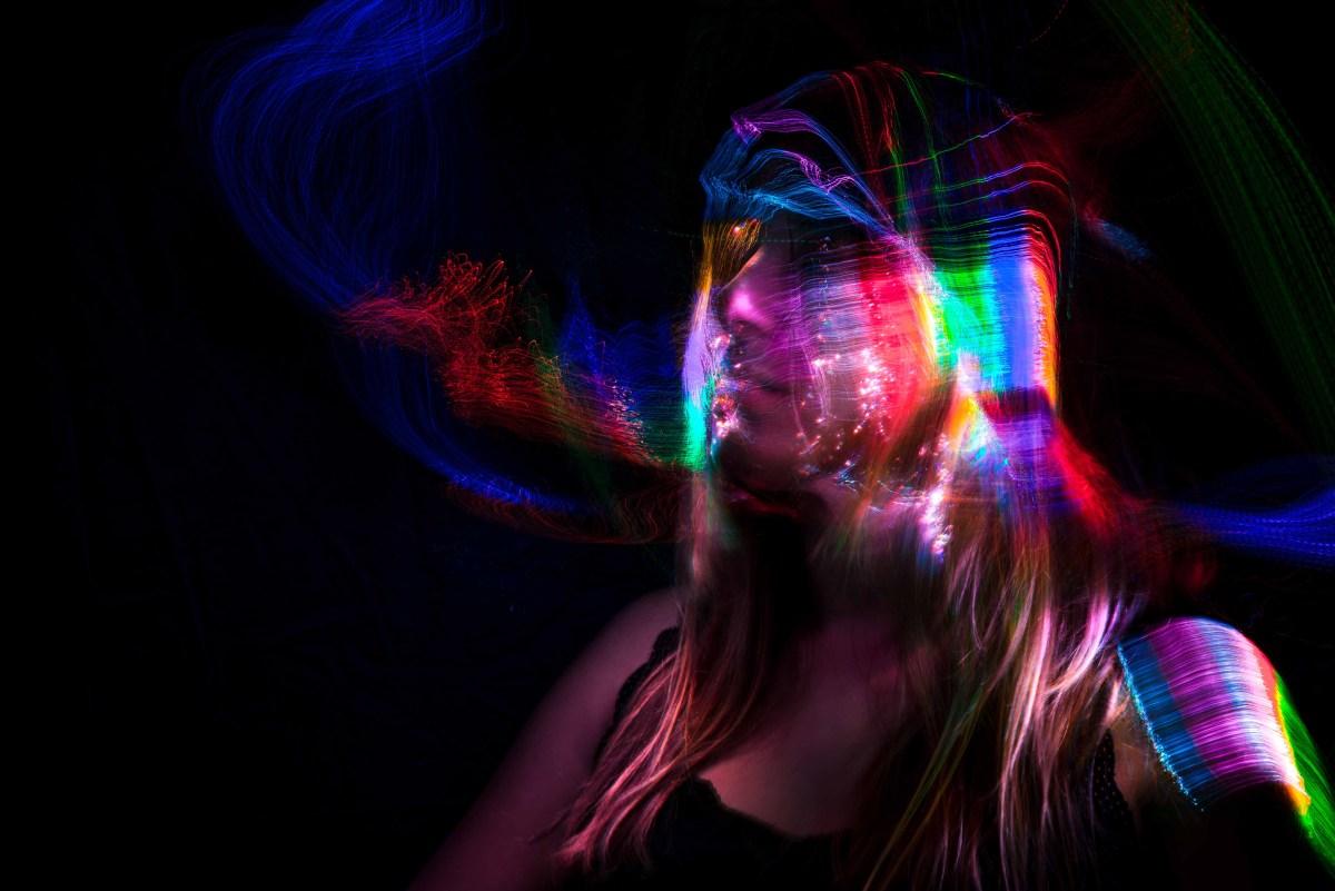 Portrait lightpainting jeffphoto cannes