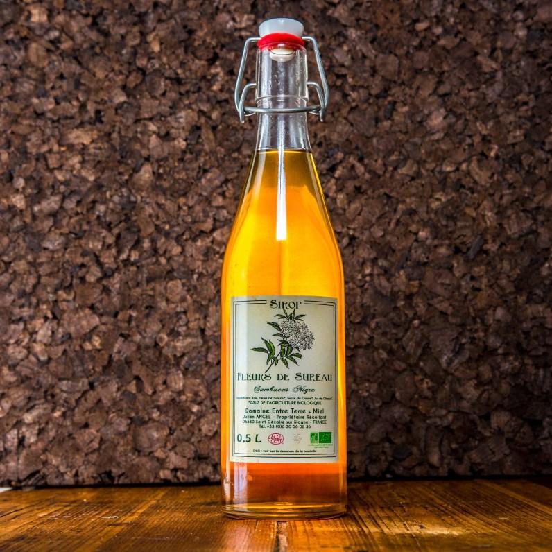 Packshot bouteilles sirop epicerie region cannoise photographe photo studio photographie produits