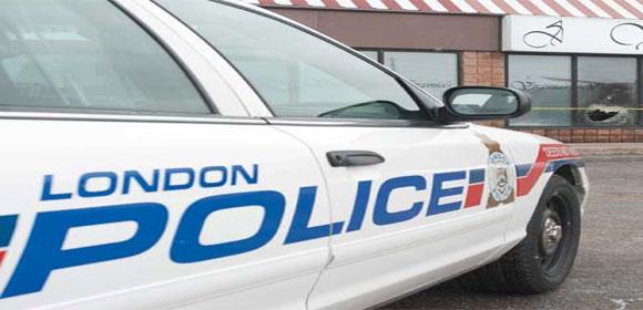 London police car