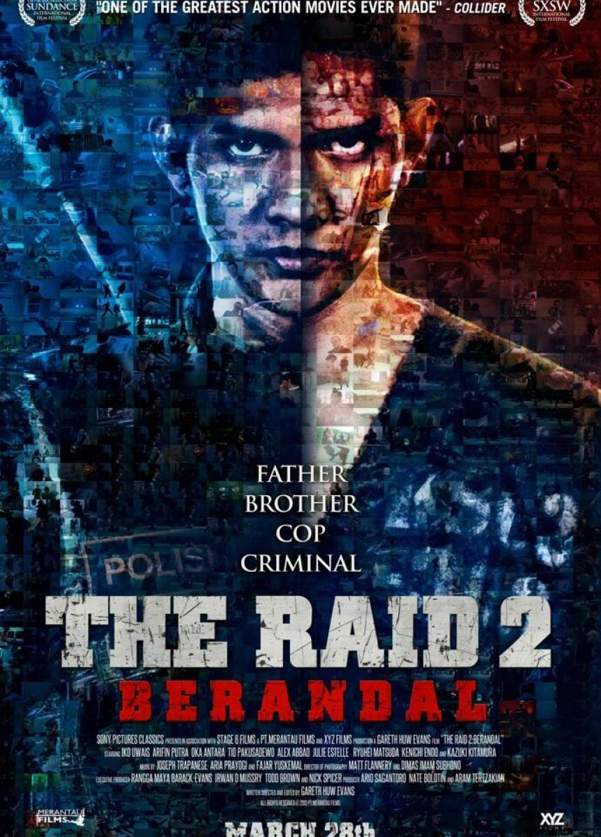 The Raid 2 movie poster