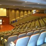An image of a lecture hall in Fanshawe College