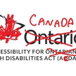 The Accessibility for Ontarians with Disabilities logo with