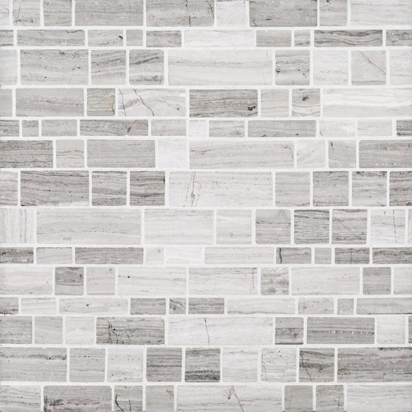 1225 X 1225 Natural Stone Moderna Pattern Grey
