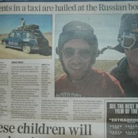 Caught between Russia & Kazakhstan by war, Taxistan is born