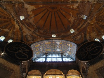 Roof of the Aya Sophia