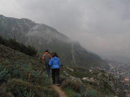 Hiking the ridge above St. Peters in Antakya