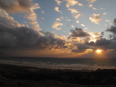Sunset in Samandagi