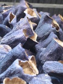 Dried Eggplant shells in Antakya