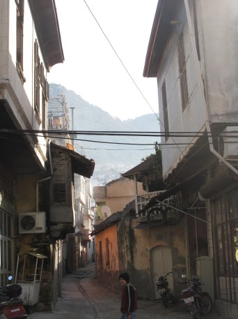 Looking off into the mountains from Antakya