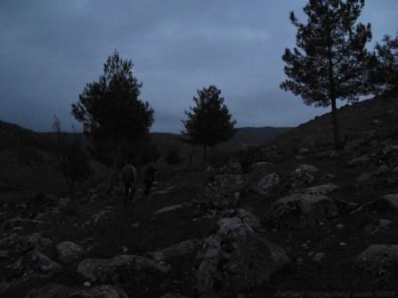 Our dusk tour of the Hittite rock garden in Yesemek