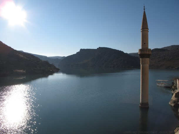 Looking out onto the Euphrates.