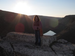 Steph and the Euphrates river