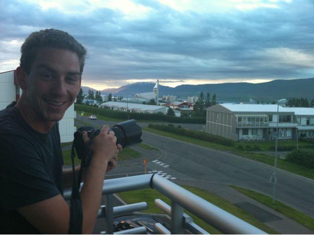 Having fun in Akureyri