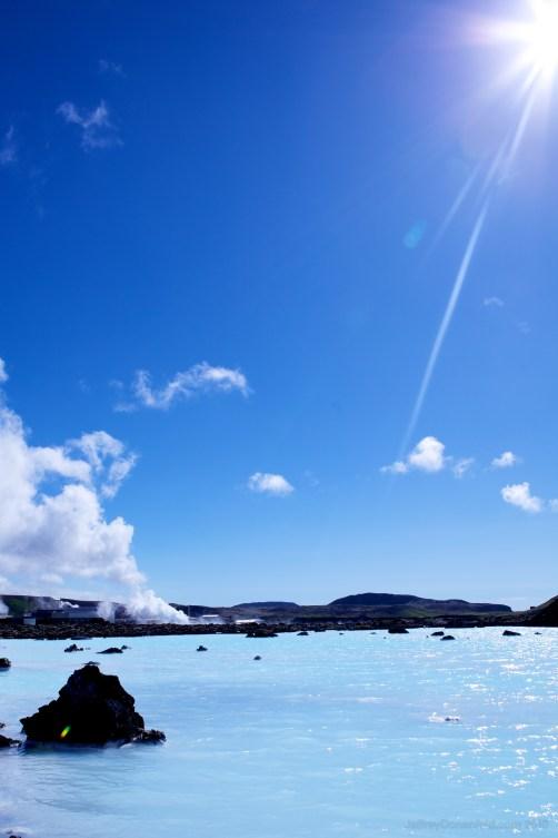 Silca-Rich Blue Lagoon