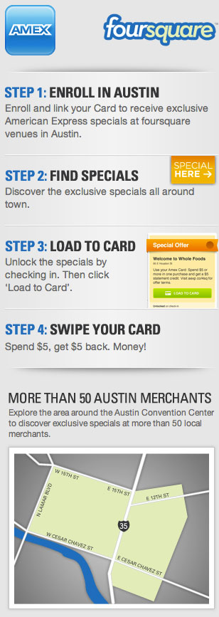 Foursquare-Amex-details