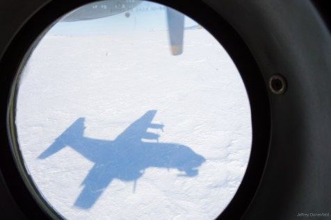 Landing in McMurdo on the Pegasus Ice Runway