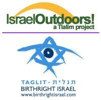 Israel Outdoors and BRI logo
