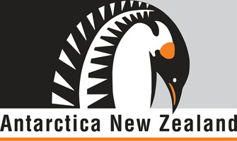 Antarctica New Zealand Program Logo Graphic