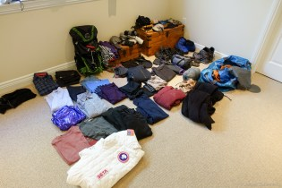 My gear for Antarctica 2014/WAIS Divide
