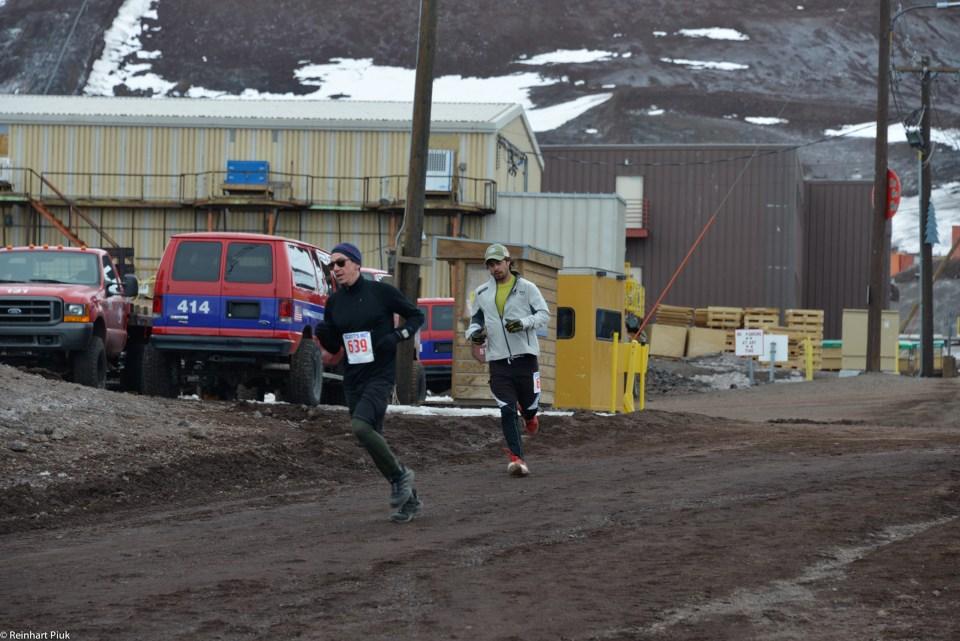 Final stretch of the Scotts Hut 10K.