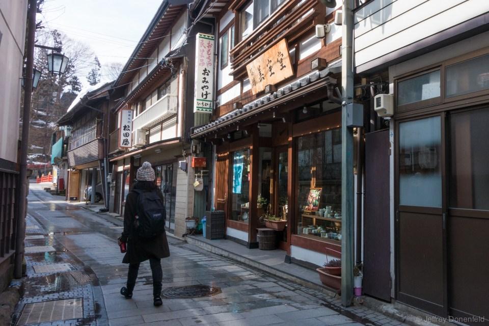 Walking through Shibu Onsen - such a beautiful town.
