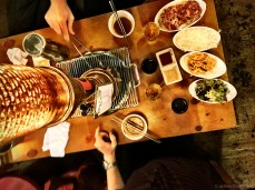 Of course, Korean BBQ is a must.