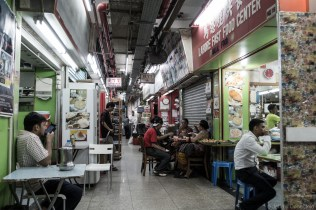 In Chungking Mansions, I grabbed lunch, and explored the many corridors of the interconnected buildings.