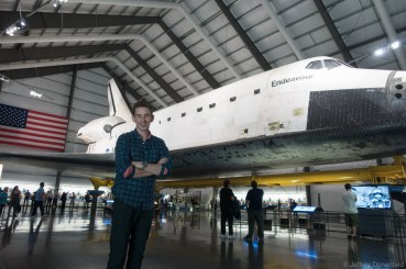 We also visited the California Science Center, and got to see the Space Shuttle Endeavor in person.