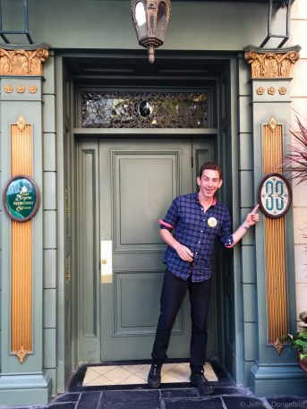 At Disneyland, I found the secret Club 33, which I had been wanting to visit for ages. I still haven't been inside, but hopefully someday soon I'll make it happen.
