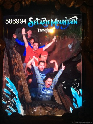 Splash Mountain - 2nd time.
