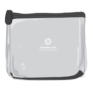 Black-Clear-Toiletry-Bag