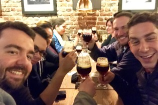 Beer in Brussels!