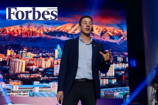 Jeffrey Donenfeld in Forbes Magazing Kazakhstan