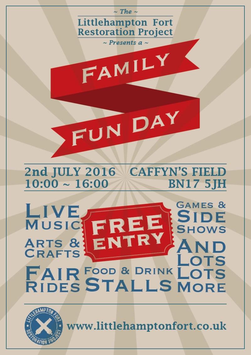 Family Fun Day Poster 2016
