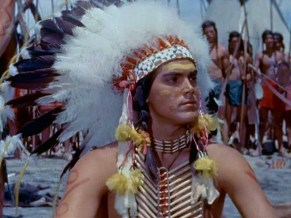 Image result for jeffrey hunter in white feather