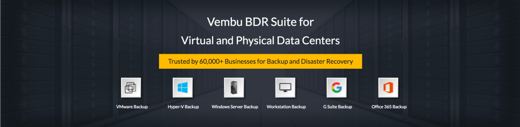 Sponsored content: Free edition of Vembu BDR Suite v3.8.0