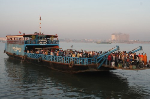 We took this ferry across the Tonle Sap.