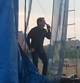 Huey Lewis doin' his thing at our 2013 Summer Concert on Montrose Beach!