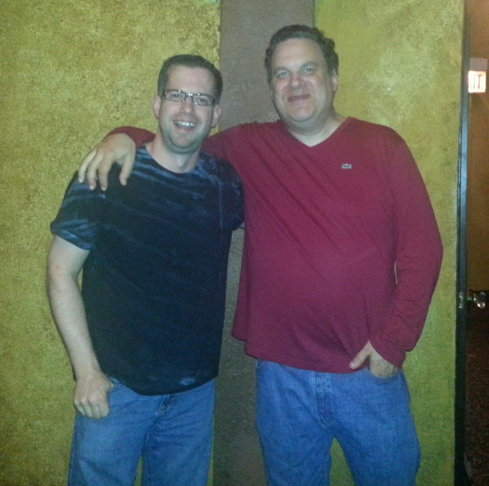 """Chicago's own Jeff Garlin from """"The Goldbergs"""" and """"Curb Your Enthusiasm"""" at the Music Box Theatre."""
