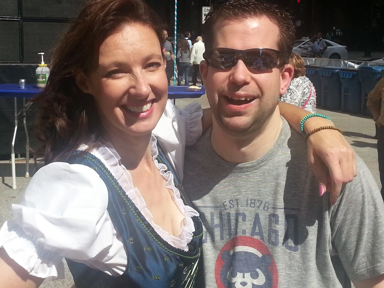 Sandy Maxx hosts Berghoff Oktoberfest every year on Federal Plaza.