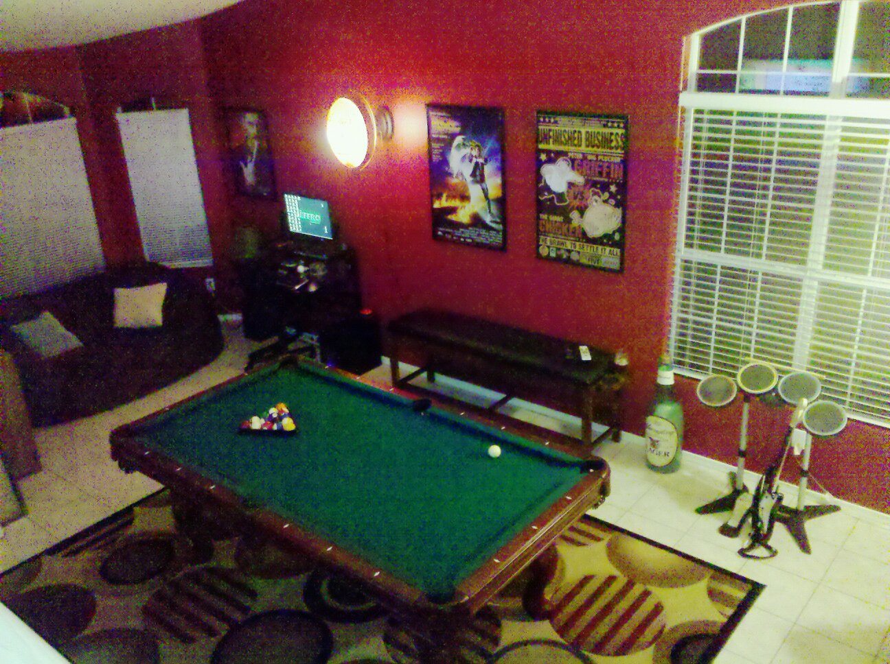 I miss my Phoenix house. I had a pool room!