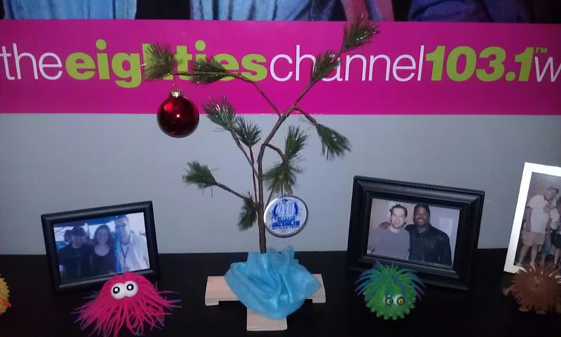 Charlie Brown tree...perfect for my office!
