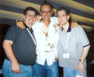 My friend Brian Davis and I with one of the best in the biz...Joel Denver of www.AllAccess.com.